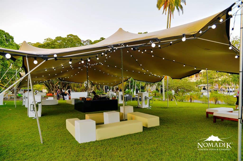 Stretchtent Outdoor With Lights